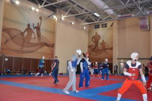 Тренировочные мероприятия в МСБК «Парамоново» сборной команды по тхэквондо