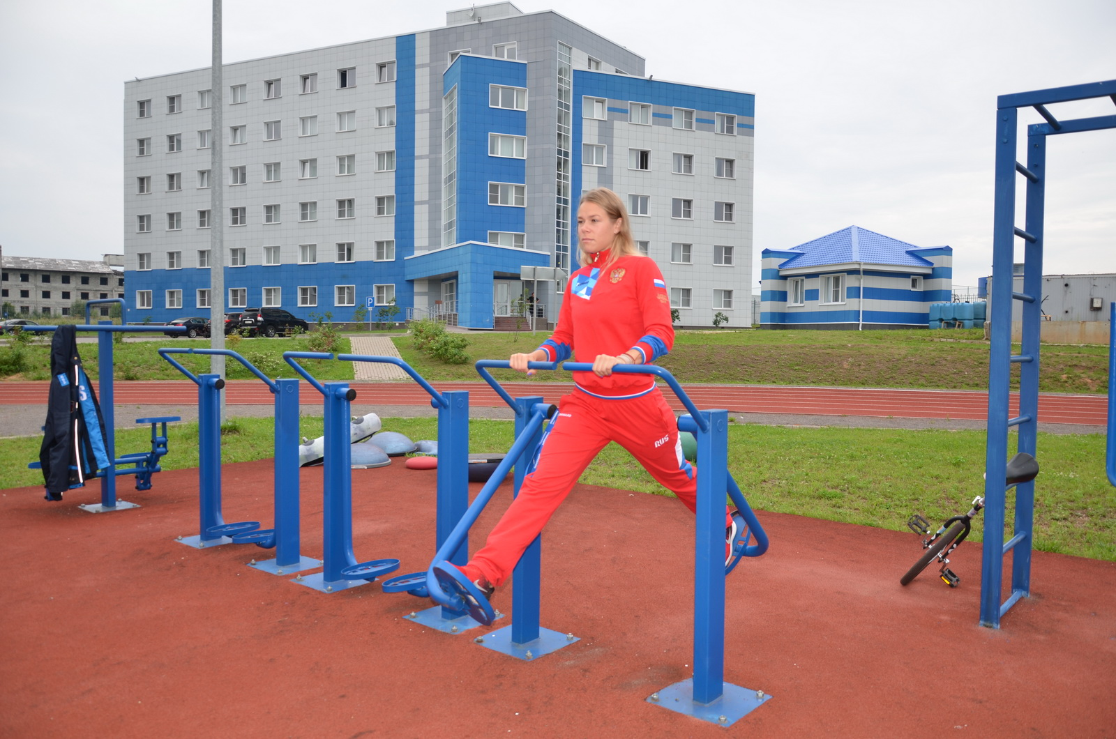 Фристайл на тренировочном мероприятии в Парамоново