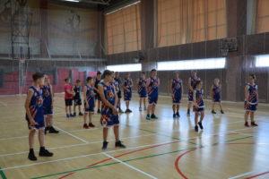 Тренировочный сбор юных баскетболистов «Академия чемпионов» в Парамоново.