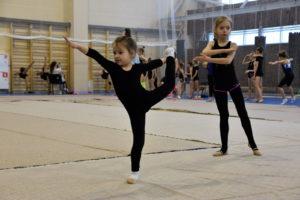 Отборочные соревнования по худ.гимнастике спортивного клуба «Колибри стар»