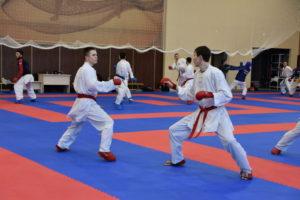 Подготовительный сбор основного состава по каратэ к II-му этапу  турнира «Премьер-Лиги Karate 2019»