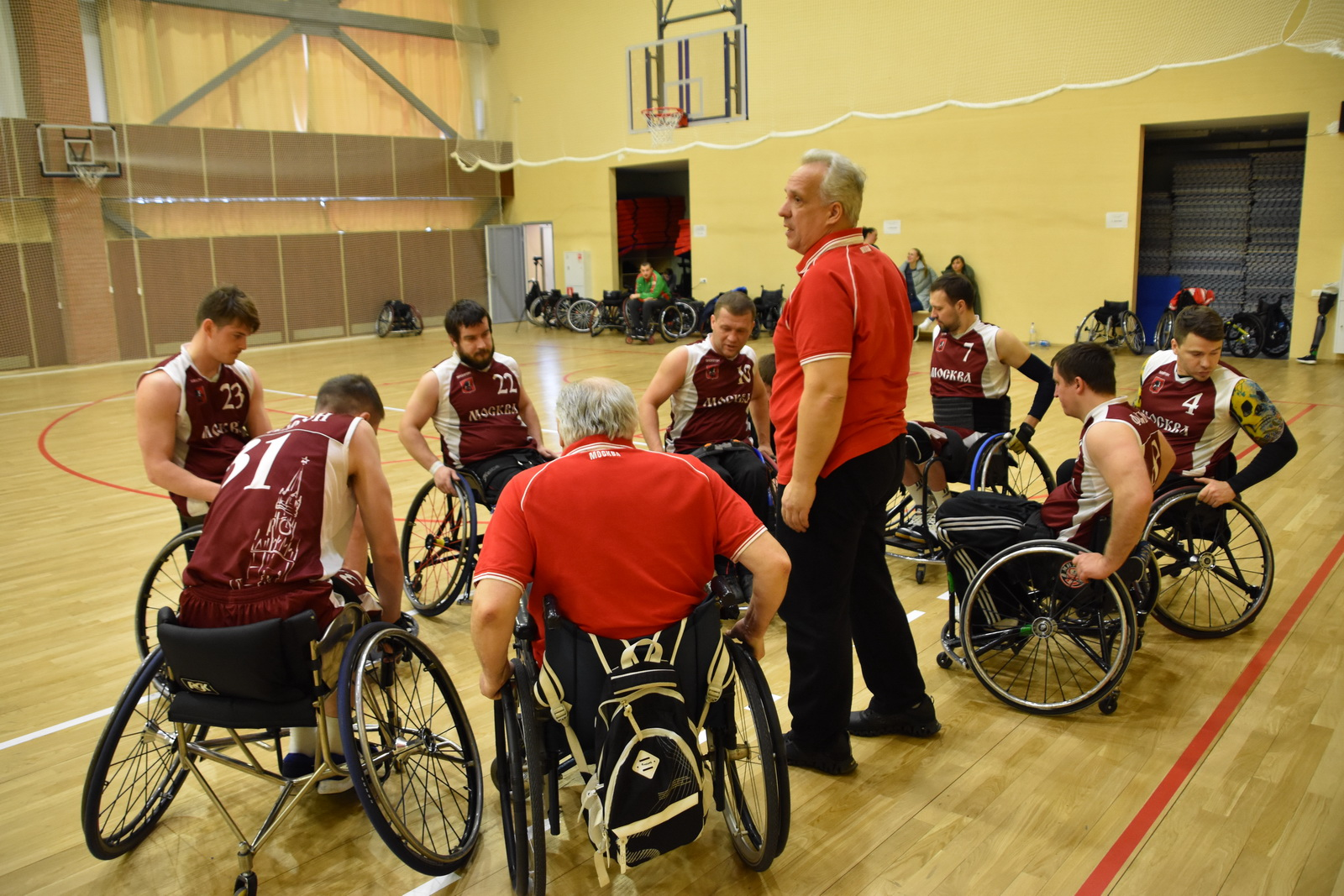 Чемпионат России 1 круг по баскетболу на колясках