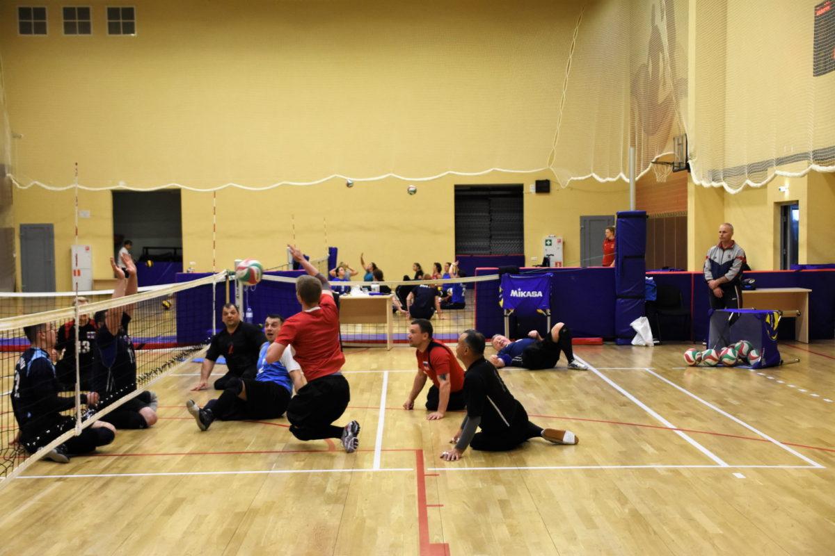 Волейбол сидя на ТМ в Парамоново
