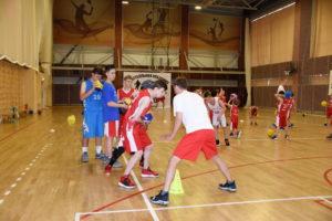 Баскетбольная Академия «Первый шаг» в Парамоново