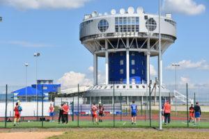 Мужская молодежная команда г.Москвы по гандболу на УТС в Парамоново