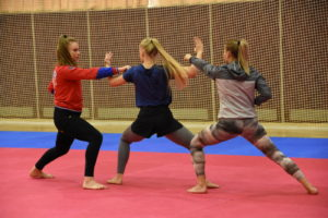Сборная команда РФ по каратэ на ТМ в Парамоново