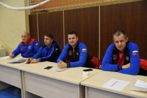 Сборная команда по тхэквондо на ТМ в «Парамоново