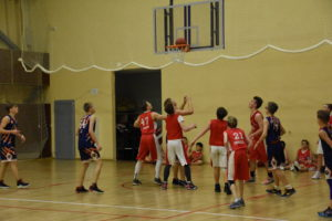 Юные баскетболисты «Академии чемпионов» на ТМ в «Парамоново