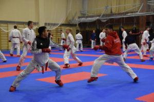Подготовительный сбор к Чемпионату Европы по каратэ молодежной сборной команды.