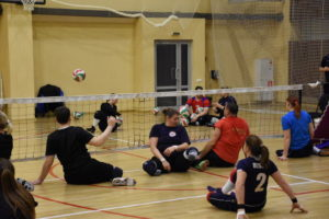 Сборные команды по волейболу сидя мужчины и женщины на ТМ в «Парамоново